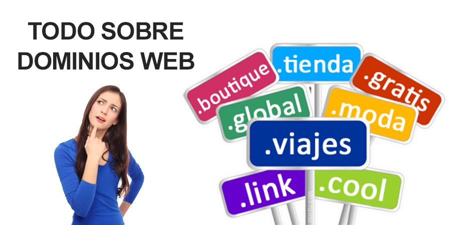 nuevos dominios web