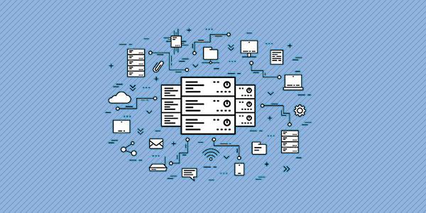 Ilustración de un servidor web